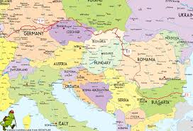 Eastern Europe Political Map by E3