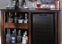 Wine Bar Cabinet Bar Bar Cabinet With Wine Fridge Striking Granite Wine Cooler