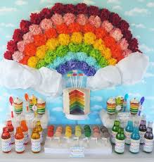 Rainbow Themed Birthday Favors by Best 25 Rainbow Ideas On Rainbow Themes