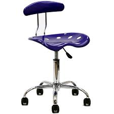 Swivel Desk Chair Without Wheels by Acrylic Desk Chair Caraway Office Chair Wclear Acrylic Seat By