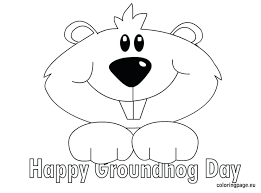3 Weekdiet Info Wp Content Uploads 2017 11 Groundh Groundhog Color Page