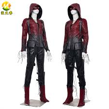 Mcr Halloween Costume Thea Queen Speedy Costume Green Arrow Willa Holland Cosplay Red