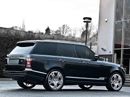 matte black range rover new kahn design 23