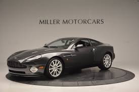 matte black aston martin 2005 aston martin v12 vanquish s stock 7097 for sale near
