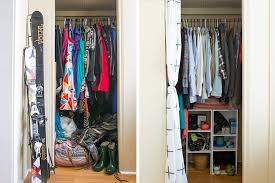 Organize Wardrobe by 10 Organized Closet Before U0026 Afters