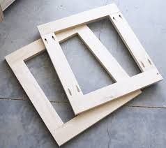 How To Build A Cabinet Door Frame Cabinet Doors With Kreg Jig Cabinet Designs