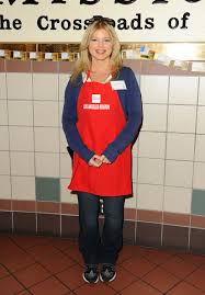 donna d errico at mission thanksgiving for the homeless in los