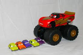 youtube monster jam trucks cars xl monster truck talking lightning mcqueen in monster truck