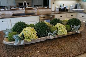 Kitchen Island Centerpieces Another Fabulous Book Club Artichokes Shapes And Dough Bowl