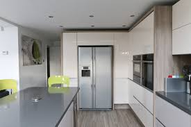 modern handleless kitchens kitchen inspirations modern with a rustic twist handleless