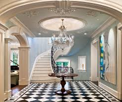 dishy foyer ideas with stairs staircase mediterranean with tile