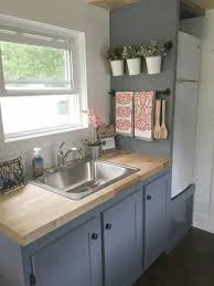 kitchen ideas small space minimalist stained wood island iron