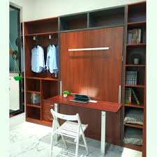 wall beds with desk wall bed with desk double portrait wall bed desk walnut