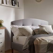 buy john lewis grace bed frame king size grey john lewis