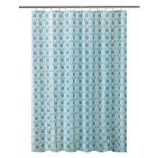Teal Colored Shower Curtains Blue Shower Curtains Shower Accessories The Home Depot