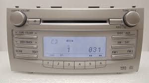 toyota camry 2007 audio system 07 08 09 10 11 toyota camry am fm radio stereo mp3 cd player 11846