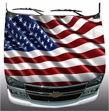 Free American Flag Stickers American Flag Hood Wrap Wraps Sticker Vinyl Decal Graphic