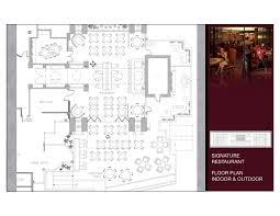 hotel restaurant floor plan yhgi hotel project presentaion