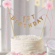 one cake topper birthday cake topper mud pie