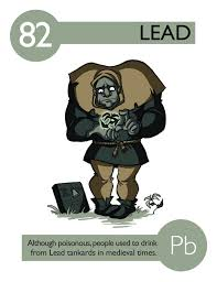element 82 periodic table 82 lead cartoon elements pinterest chemistry and periodic table