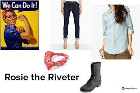 rosie the riveter costume last minute diy costume rosie the riveter megan