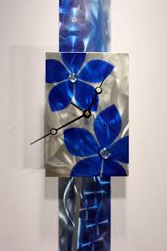 Ribbon Metal Wall Decor Metal Wall Art Sculpture Pendulum Clock Modern Abstract Decor