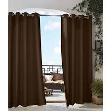 Outdoor Gazebo With Curtains Outdoor Curtains Outdoor Drapes Outdoor Patio Curtains Brown