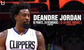 Deandre Jordan Meme - deandre jordan had 18 points 24 rebounds 22 missed free throws