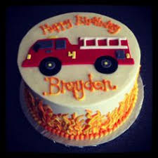 firetruck cakes truck cake firefighter themed 2nd birthday cake white