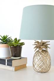 banana themed lamps home pineapple lamp bedrooms and room