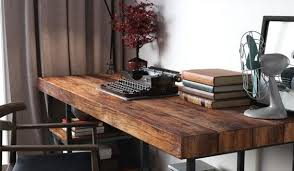 reclaimed wood writing desk new reclaimed wood desks throughout the bridge between past and