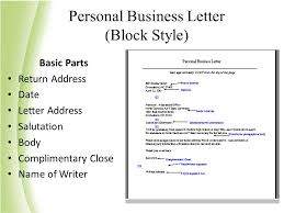 Business Letter Return Address ideas of fundamental word processing create documents using