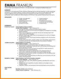 relations resume template media relations resume best resume collection