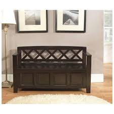 small entryway storage bench u2014 optimizing home decor ideas