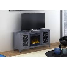 classic flame clarion 54 in media console electric fireplace in