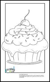cute cupcake coloring pages cupcake coloring pages minister coloring