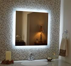 bathroom amazon com wall mounted lighted vanity mirror led
