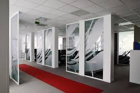 bureau vitre corridor architectured by cléram style design bureau