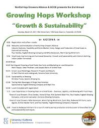 events u2014 norcal hop growers alliance
