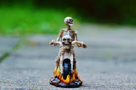 halloween figurine free images decoration motorcycle halloween gothic scary