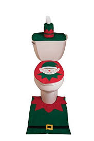 themed toilet seats christmas themed toilet seat lid tank cover with floor mat