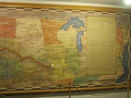 Pony Express Route Map by Our Wonderful Mission 26 May 2012 Pony Express Museum St Joseph Mo