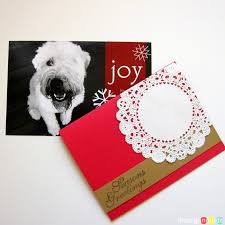 two simple diy christmas card ideas rosyscription