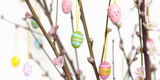easter egg tree decorations diy easter egg tree ideas how to make an easter tree