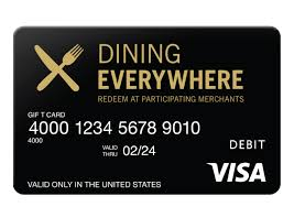 online restaurant gift cards card dining png