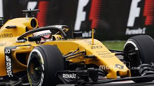 renault f1 van f1 drivers shown u0027the shield u0027 head protection concept