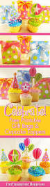 birthday party planner template 174 best party printables images on pinterest party printables free printable birthday party cupcake toppers and gift bags