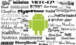android fonts how to use your own handwriting as system font in android