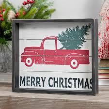 Christmas Vehicle Decorations Rustic Christmas Decorations Kirklands