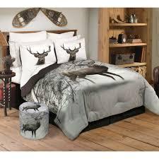 safdie co 3 pc mountain deer queen comforter set in multicolor